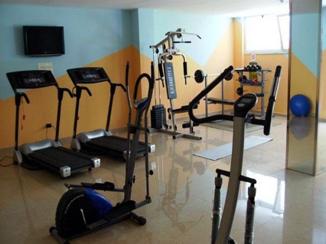 Sala fitness all'interno dell'Hotel Victoria