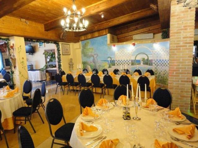 Sala ristorante - Hotel Residence Parco del Sole