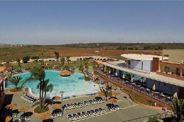 Vista dell'Hotel Esperia