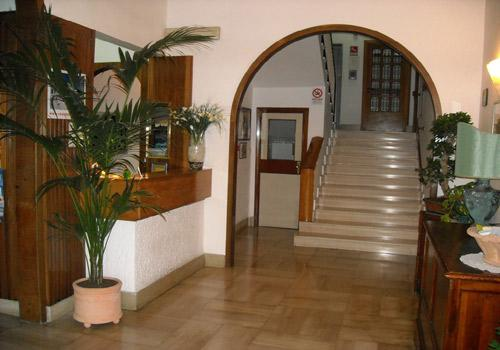 Hall - Hotel Due Mari a Vieste