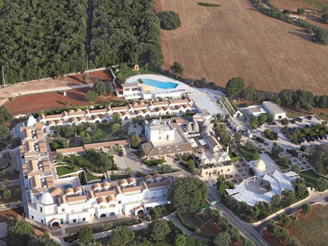 Vista dall'alto della Masseria