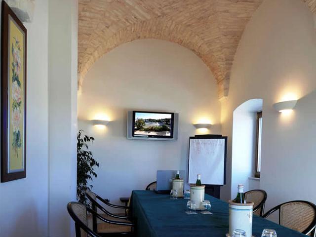 Meeting all'interno della Masseria Chiancone Toricella