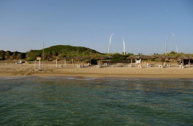 Spiaggia esclusiva di Coccaro Beach