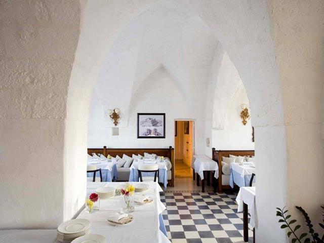 Interni della Masseria Torre Maizza