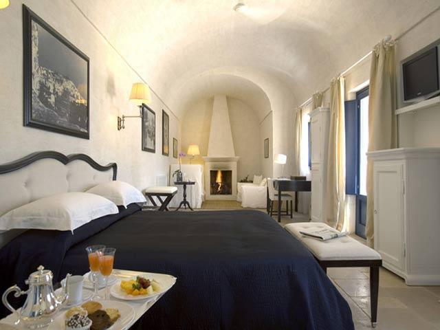 Suites e camere della Masseria Torre Maizza