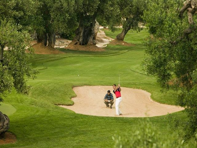 Golf all'interno della Masseria Torre Maizza