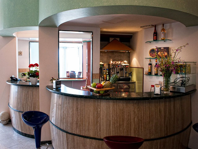 Bar all'interno dell'Hotel La Plancia
