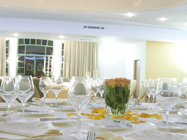 Ristorante all'interno dell'Hotel Resort