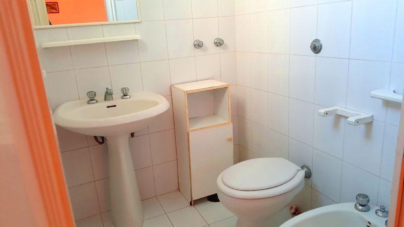 il bagno dell'abitazione