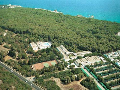 Hotel Solara sito lungo il litorale otrantino