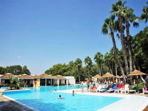 Piscina dell'Hotel Club Solara