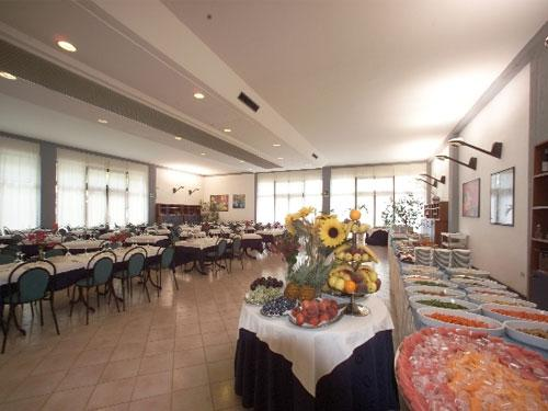 Ristorante all'interno dell'Hotel Solara