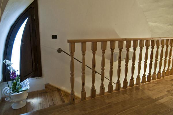 Soppalco dell'appartamento rustico