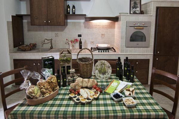 Interni della casa vacanza in affitto a Supersano in Salento