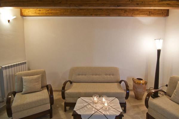 Salone dell'appartamento Rustico in affitto a Supersano