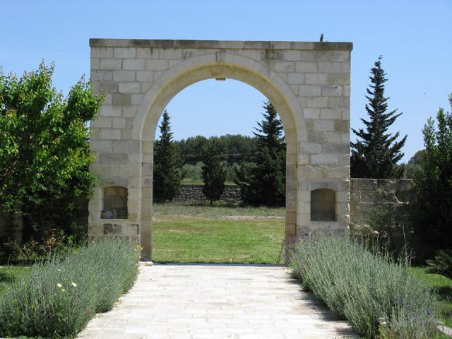 Entrata dell'antica Masseria
