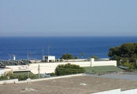 Visuale del mare di Santa Cesarea