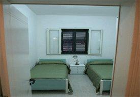 Camera con letti singoli dell'abitazione
