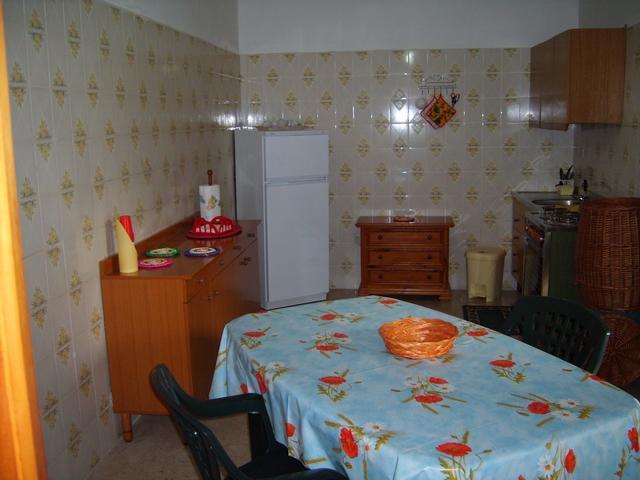 cucina dellabitazione in affitto nel Salento