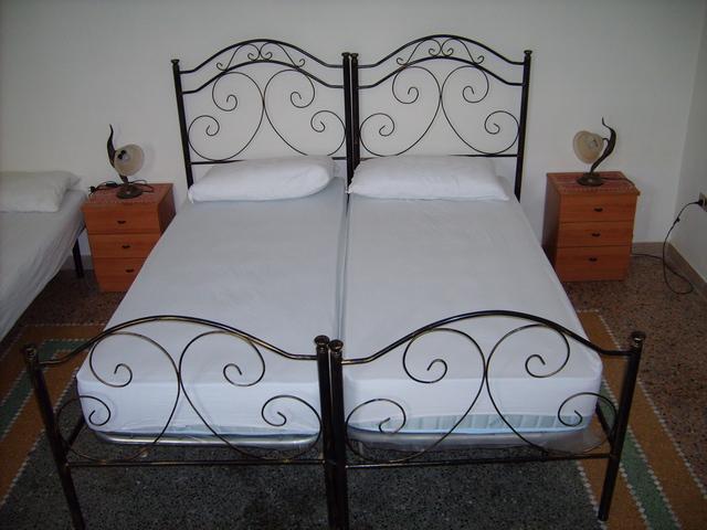 camera da letto dell'abitazione