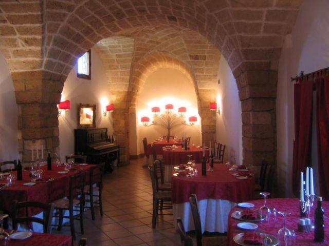 Interni sala ristorante
