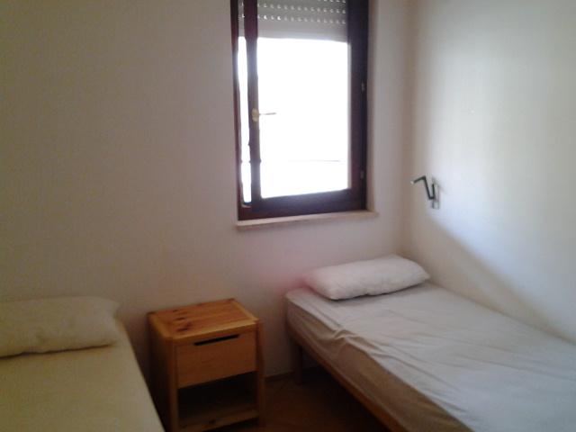 camera da letto con letti accoppiabili