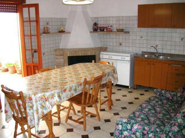 Cucina abitabile della soluzione abitativa