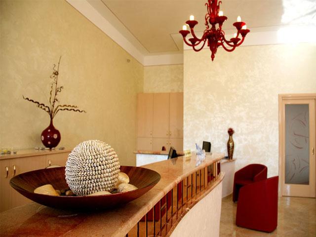 reception del Villaggio Hotel Mulino a Vento