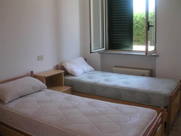 Vista di una delle camere da letto del Residence
