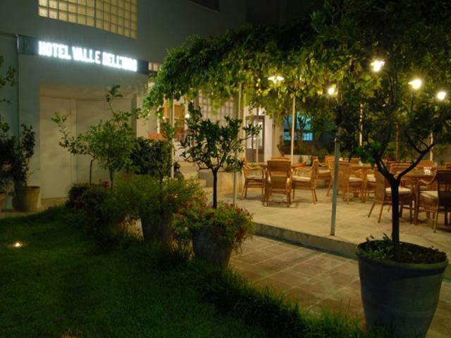 Spazio esterno dove poter mangiare