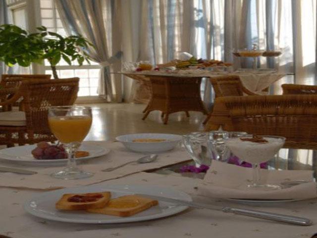 Ampia sala colazioni