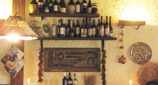 vini e olio di produzione locale