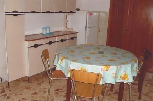 Sala da pranzo della casa vacanza in affitto a Martano nel Salento