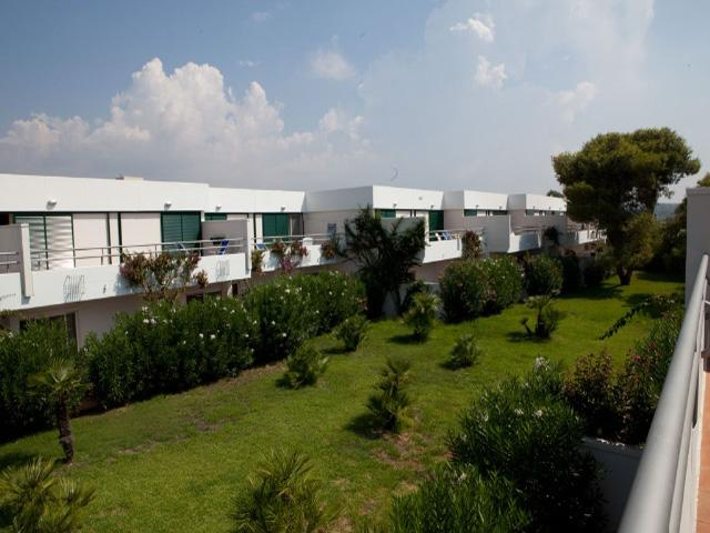 Gli alloggi del villaggio hotel