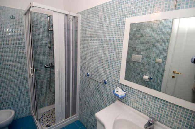 uno dei bagni privati in camera