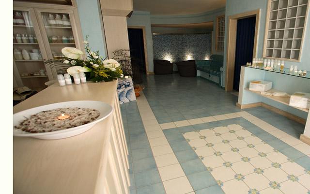 Centro benessere - trattamenti a base di acqua ed aromi