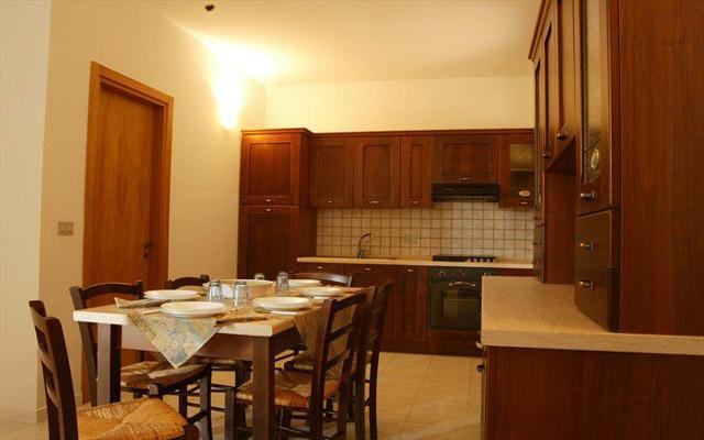 Interno degli appartamenti in affitto nel complesso turistico Porto Selvaggio
