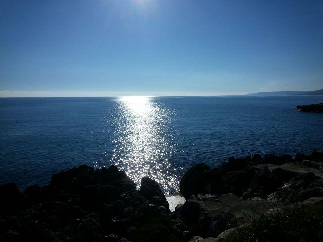 il mare di Santa Cesarea Terme