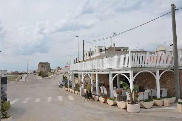 Hotel Da Gianni sulla spiaggia di Torre Mozza