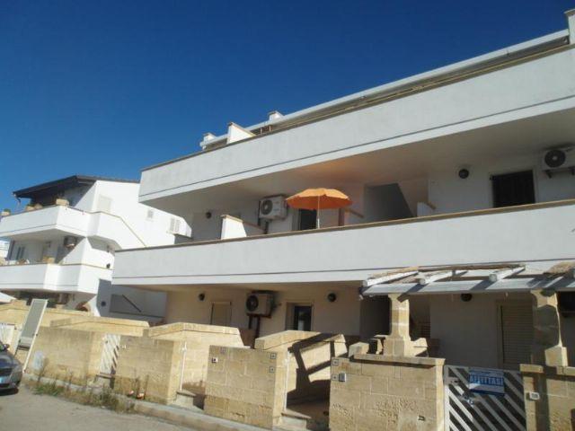 Gli appartamenti con balcone posti al piano terra, al primo e al secondo piano