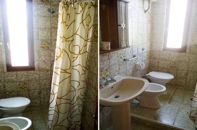 il bagno privato con box doccia