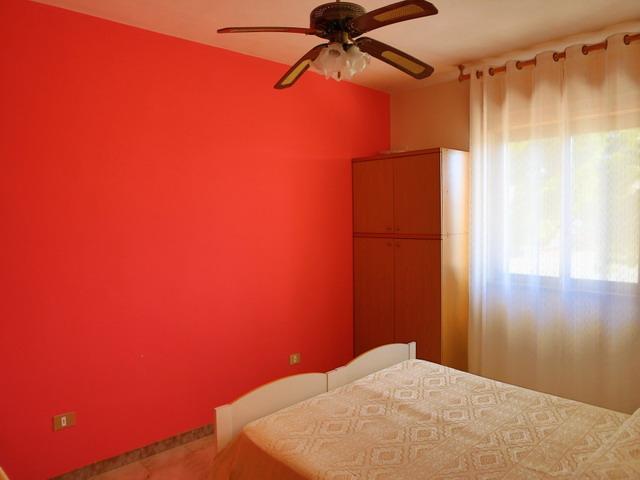 Vista della camera da letto