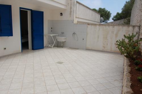 Esterni dell'appartamento in affitto a Santa Cesarea Terme