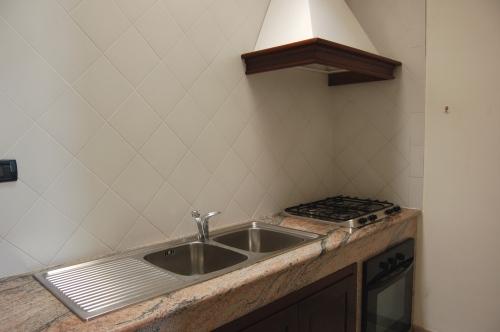 Interni cucina con angolo cottura