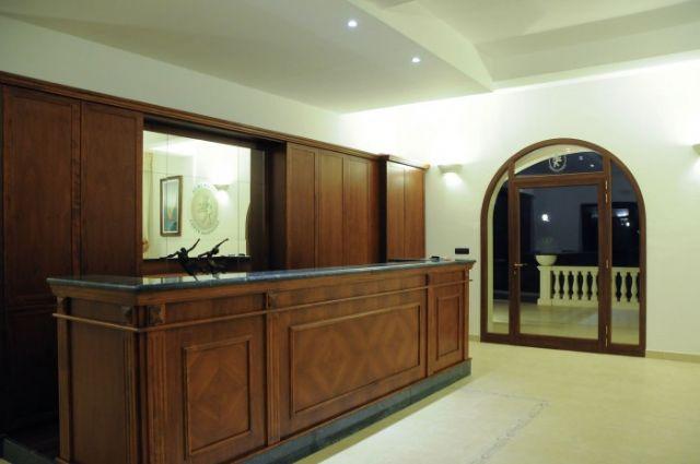 La reception aperta 24 ore su 24 di Hotel Agriturismo Conte Salentino