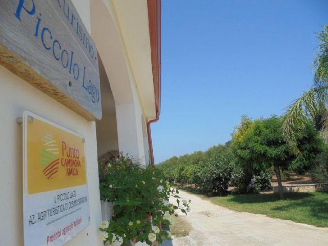 Ben arrivati all'Agriturismo Il Piccolo Lago in localita' ad Alimini di Otranto
