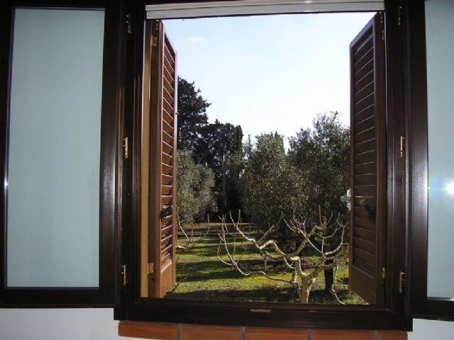finestre vista giardino