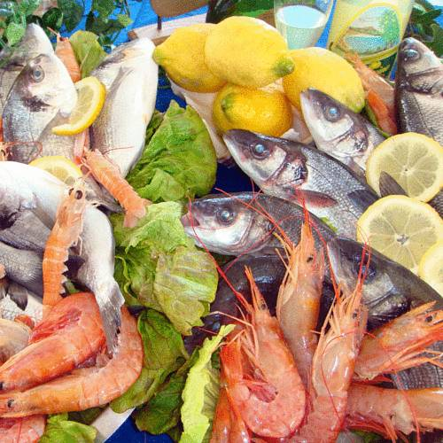 specialità a base di pesce fresco a Al Parco Agriturismo