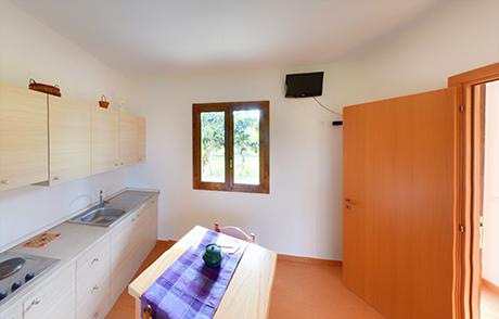 appartamenti con soggiorno e cucina