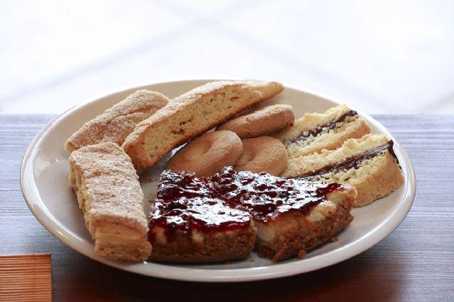 la colazione a base di cibi dolci